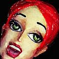 Red Head Around Corner by John Farr