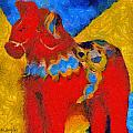 Red Horse by Barbara Snyder