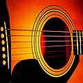 Red Hot Guitar by Robert Storost