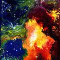Red Hot Nebula by Carole  DiTerlizzi