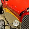 Street Car - Red Hot Rod by Catherine Balfe
