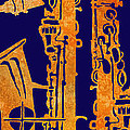 Red Hot Sax Keys by Jenny Armitage