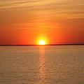 Red-hot Sunset by John Telfer