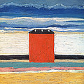 Red House, 1932 Oil On Canvas by Kazimir Severinovich Malevich