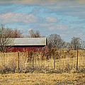 Red Kentucky Relic by Paulette B Wright