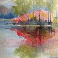 Red Lake Reflection #2 by Robin Miller-Bookhout