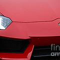 Red Lamborghini by Dennis Hedberg