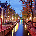Red Light District In Amsterdam by Artur Bogacki