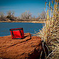 Red Lunch Bag by Doug Long