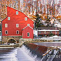 Red Mill Clinton New Jersey by Jerry Fornarotto