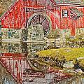 Red Mill II by Melvin Busch