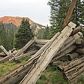 Red Mountain Ruins by Tonya Hance