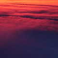 Red Night Sky By Earl's Photography by Earl  Eells a