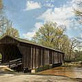 Red Oak Creek Covered Bridge by Mike Fitzgerald