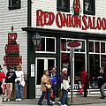 Red Onion Saloon by Laurel Talabere