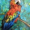 Red Parot by Jieming Wang