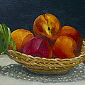 Red Peaches by Roger Clark
