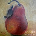 Red Pear by Marlene Book