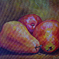 Red Pears Five by Gay Pautz