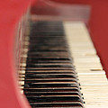 Red Piano by Cathy Anderson