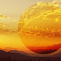 Red Planet Sunset by Diane Dugas