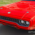 Red Plymouth Gtx by Mark Spearman