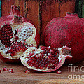 Red Pomegranate by Luv Photography