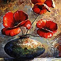 Red Poppies 02 by Emerico Imre Toth