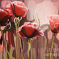 Red Poppies by Annette Cohen