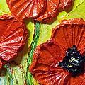 Red Poppies II by Paris Wyatt Llanso