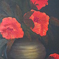 Red Poppies by Kay Novy