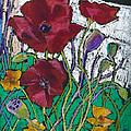 Red Poppies by Toshiko Tanimoto