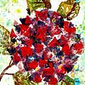 Red Purple Flower by Joan Reese