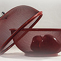 Red Red Apples by Judy Hall-Folde