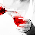 Red Red Wine by Jenny Rainbow