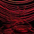 Red Rhythm II by Davorin Mance