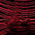 Red Rhythm IIi by Davorin Mance