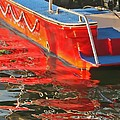 Red Rippling by Pete Marchetto