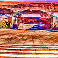 Colorado - Famous - Red Rock Amphitheater by Barry Jones