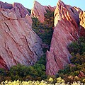 Red Rock Autumn by David Broome