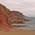 Red Rock By Sea Of Cortez From San Carlos-sonora by Ruth Hager