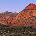 Red Rock Canyon Pano by Jane Rix
