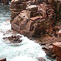Red Rock Coast Maine by Christiane Schulze Art And Photography