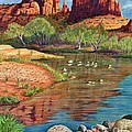 Red Rock Crossing-sedona by Marilyn Smith
