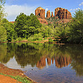 Red Rock Reflection by Mike Lang
