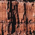 Red Rock Wall by David Hansen