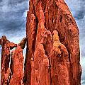 Red Rocks Against Blue Skies by Adam Jewell