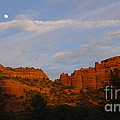 Red Rocks In Sedona by Denise Mazzocco