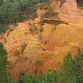 Red Rocks Of Roussillon by Christiane Schulze Art And Photography