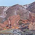 Red Rocks Panorama 1 by Benjamin Reed